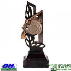 Trofeo Tiro al Plato 5542 deportivo premio diferentes alturas pallart tamaños chapa grabada