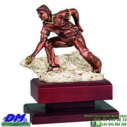 Trofeo Chito 5571 deporte autoctono premio diferentes alturas pallart bolos tamaños chapa grabada