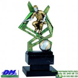 Trofeo Petanca 5562 bolas jugador premio diferentes alturas pallart tamaños chapa grabada
