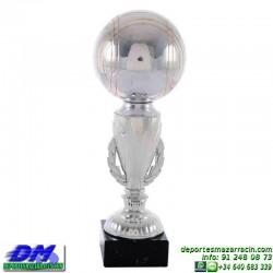 Trofeo Petanca 5564 bolas jugador premio diferentes alturas pallart tamaños chapa grabada