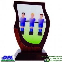 Trofeo Futbolin 5611 futbol premio diferentes alturas pallart tamaños chapa grabada