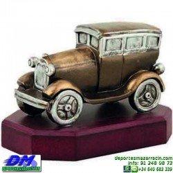 Trofeo Motor 5630 motor coche piloto antiguo premio pallart chapa grabada