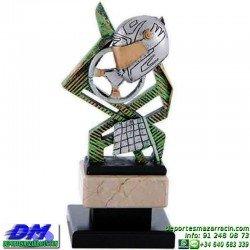 Trofeo Automovilismo 5634 motor coche volante carreras premio pallart diferentes alturas tamaños chapa grabada