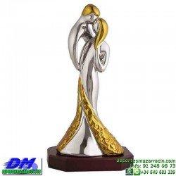 Trofeo Baile 5645 bailarines bachata danza premio pallart chapa grabada