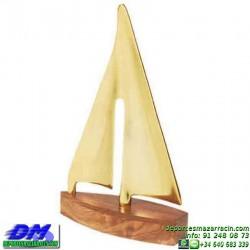 Trofeo Vela 5679 mar barco deporte agua premio pallart chapa grabada