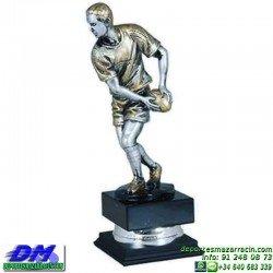 Trofeo Rugby 5695 diferentes alturas premio pallart tamaños chapa grabada
