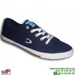 John Smith LANTA Azul Marino Zapatilla hombre chico Tela sportwear moda personalizar