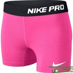 NIKE-PRO Core Compression Malla CORTA ROSA Lycra DRI-FIT 589617-667 CHICA gimnasio fitness deporte mujer