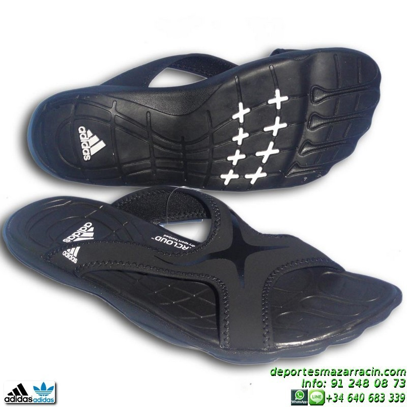hot sale online 62688 dff74 adipure negros chancla adidas adipure slide sg ultrafoam sandalia negro  v21529 playa piscina ultrafoam supercloud