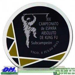 Trofeo Cristal Especial Grabación 5124 laser texto logotipo escudo diferentes alturas premio deporte pallart metacrilato