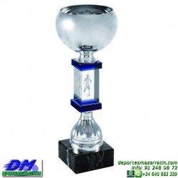 Trofeo Cristal Especial Grabación 3D 5146 laser texto logotipo escudo diferentes alturas premio deporte pallart metacrilato