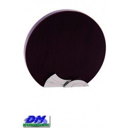 Trofeo Madera 5209 laser texto logotipo escudo diferentes alturas premio deporte pallart metacrilato