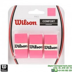 WILSON PRO OVERGRIP ROSA grip recambio tenis padel WRZ4014PK MUJER