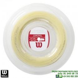 WILSON SYNTHETIC GUT CONTROL 16 NA 200M REEL Rollo Cordaje raqueta tenis WRZ904400 encordado cuerda