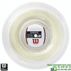 WILSON SENSATION 15L 200M REEL Rollo Cordaje raqueta tenis WRZ910900 encordado cuerda