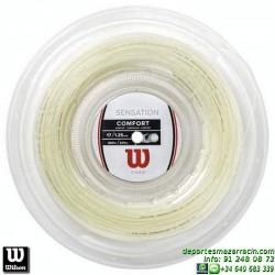 WILSON SENSATION 17L 200M REEL Rollo Cordaje raqueta tenis WRZ911100 encordado cuerda