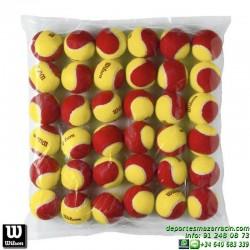 WILSON STARTER RED TBALL 36 PACK Pelota Tenis POCA PRESION WRT13700B niños aprendizaje iniciacion rojo roja
