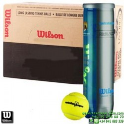 CAJON WILSON AUSTRALIAN OPEN TENNIS BALL 18 Botes de pelotas tenis x4 bolas WRT113000