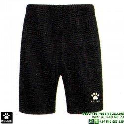 KELME PANTALON CORTO GLOBAL Futbol color NEGRO short equipacion SPORT talla hombre niño 75053-26