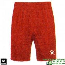KELME PANTALON CORTO GLOBAL Futbol color ROJO short equipacion SPORT talla hombre niño 75053-130