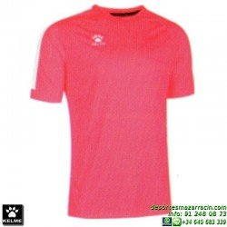 KELME CAMISETA GLOBAL Futbol color ROJO CORAL Manga Corta talla equipacion hombre niño 78162-691