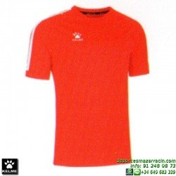 KELME CAMISETA GLOBAL Futbol color ROJO Manga Corta talla equipacion hombre niño 78162-130