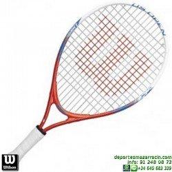 Raqueta Tenis Niño WILSON US OPEN 19 junior niña WRT21000U personalizar