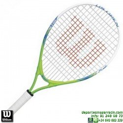 Raqueta Tenis Niño WILSON US OPEN 21 junior niña WRT21010U personalizar