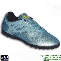Adidas MESSI 15.4 TURF NIÑOS 2015 AZUL B32899 zapatilla futbol JUNIOR bota SOCCER personalizar poner nombre bandera escudo