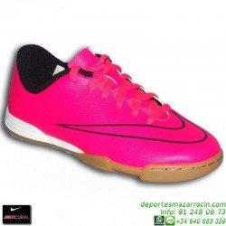 Nike MERCURIAL VORTEX 2 NIÑO Cristiano Ronaldo 2015 ROSA 651643-660 zapatilla futbol sala calle JUNIOR indoor IC