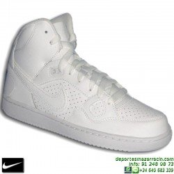Nike SON OF FORCE MID BLANCA BOTA AIR FORCE 1 mujer 615158-109 SNIKER chica personalizar deporte sportwear footwear