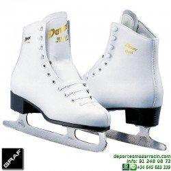 Graf DAVOS GOLD patin de hielo artistico ice skate Personalizado