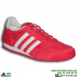 ADIDAS DRAGON ROSA-BLANCO zapatilla CHICA MUJER B25675 MODA Footwear sportwear retrorunning clasica