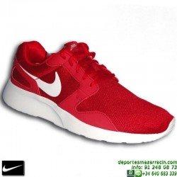 Nike KAISHI Rojo-blanco Zapatilla ROSHE RUN 654878-610 personalizar footwear sniker deporte sportwear moda calle