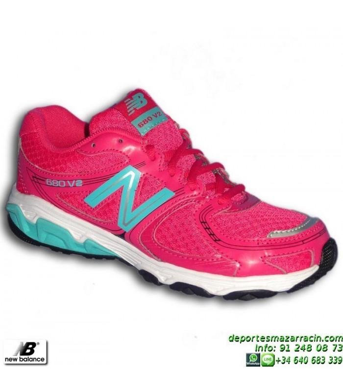 new balance mujer running rosa