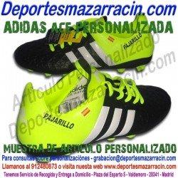 ADIDAS ACE PERSONALIZADAS imagenes botas futbol grabar nombre numero bandera escudo