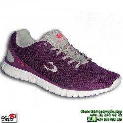 Zapatilla Deporte Mujer John Smith ROTINE 15I Morado caminar gimnasio chica  NYLON footwear personalizable