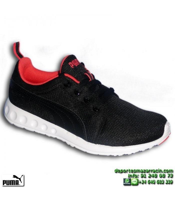 8d8232485cf PUMA CARSON RUNNER MUJER Negra-Coral Sneakers estilo ROSHE 188033-05  footwear deporte sportwear