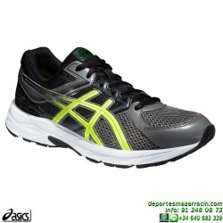 Asics GEL CONTEND 3 GRIS T5F4N-7307 zapatilla Running 2015 correr atletismo control pisada neutra deporte PERSONALIZAR