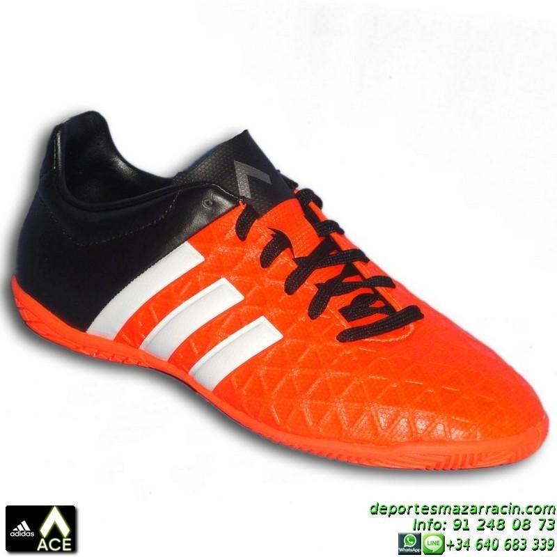 outlet store 5ffb2 66b52 Adidas ACE para niños NARANJA zapatilla futbol sala 15.4 S83205 james