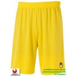 UHLSPORT Pantalon Corto CENTER BASIC II SHORT Futbol AMARILLO 1003058.05 color equipacion short deporte talla hombre