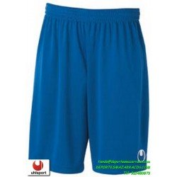 UHLSPORT Pantalon Corto CENTER BASIC II SHORT Futbol AZUL ROYAL 1003058.03 color equipacion short deporte talla hombre