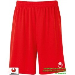 UHLSPORT Pantalon Corto CENTER BASIC II SHORT Futbol ROJO 1003058.02 color equipacion short deporte talla hombre