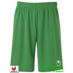 UHLSPORT Pantalon Corto CENTER BASIC II SHORT Futbol VERDE 1003058.04 color equipacion short deporte talla hombre