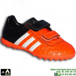 Adidas ACE VELCRO para niños NARANJA 15.4 TURF S31601 zapatilla futbol JUNIOR bota James Kroos Koke Rakitic personalizar