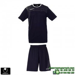 UHLSPORT Conjunto MATCH TEAM KIT Futbol color AZUL MARINO 1003161.03 equipacion camiseta pantalon talla deporte manga corta