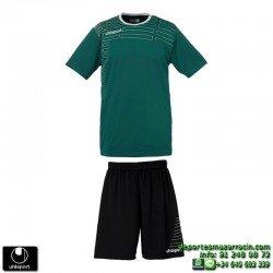UHLSPORT Conjunto MATCH TEAM KIT Futbol color VERDE OSCURO 1003161.07 equipacion camiseta pantalon talla deporte manga corta