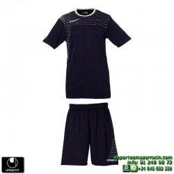 UHLSPORT Conjunto MATCH TEAM KIT women Futbol AZUL MARINO 1003168.03 mujer femenino equipacion camiseta pantalon manga corta