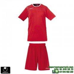 UHLSPORT Conjunto MATCH TEAM KIT women Futbol color ROJO 1003168.01 mujer femenino equipacion camiseta pantalon