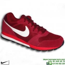 Nike MD RUNNER 2 ROJO BURDEOS Zapatilla clasica hombre 749794-616 FOOTWEAR SPORTWEAR personalizar